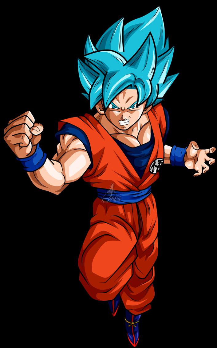 Goku Ssj Blue Dbs By Jaredsongohan Dragon Ball Super Manga Anime Dragon Ball Super Anime Dragon Ball Goku