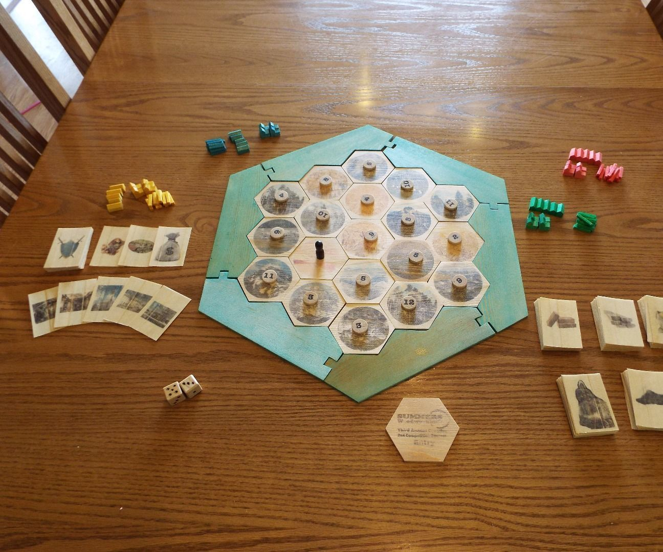 2x4 Settlers of Catan Settlers of catan, Crafts, Board games