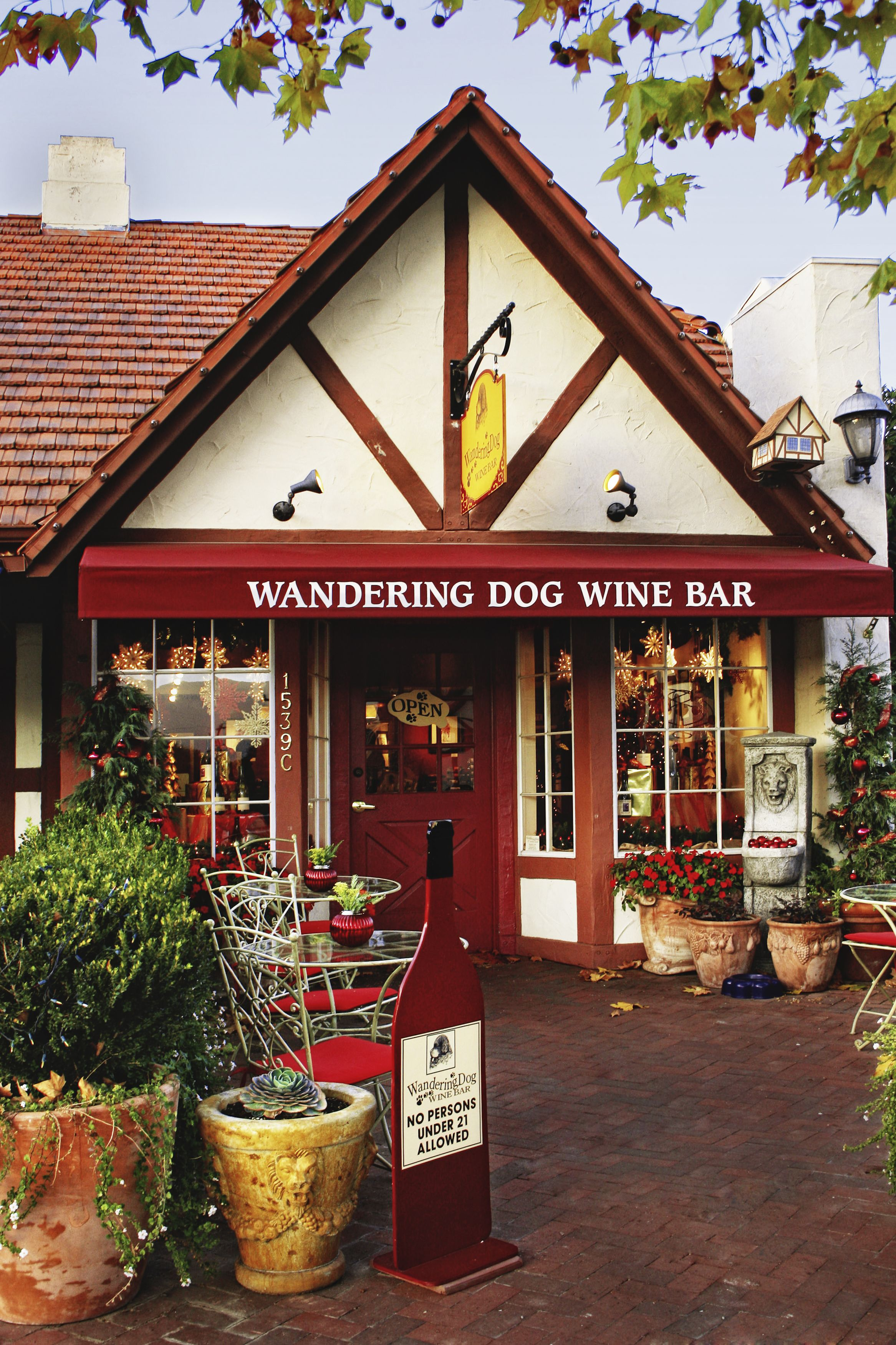 Natalie Notions Where Taste Meets Travel Solvang Dog Wine Solvang Wineries