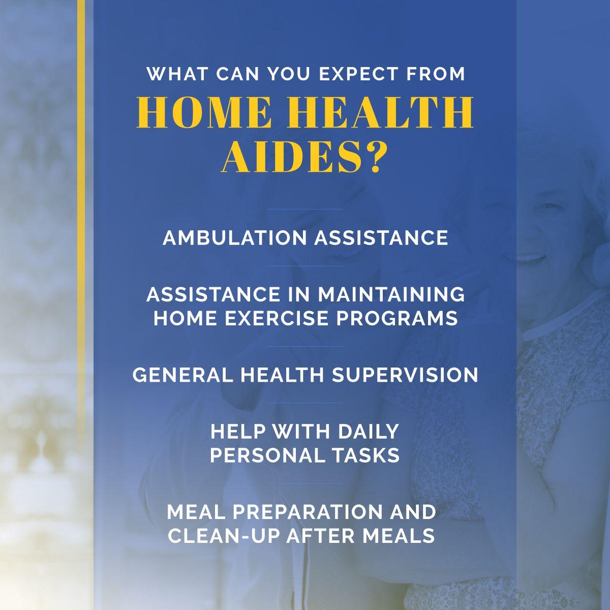 Home Home health aide, Home exercise program, Home health