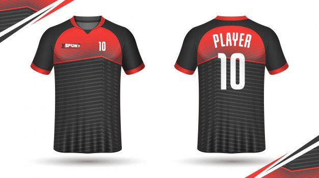 Soccer jersey template sport t shirt Pre... | Premium Vector #Freepik #vector #texture #fashion #spo...