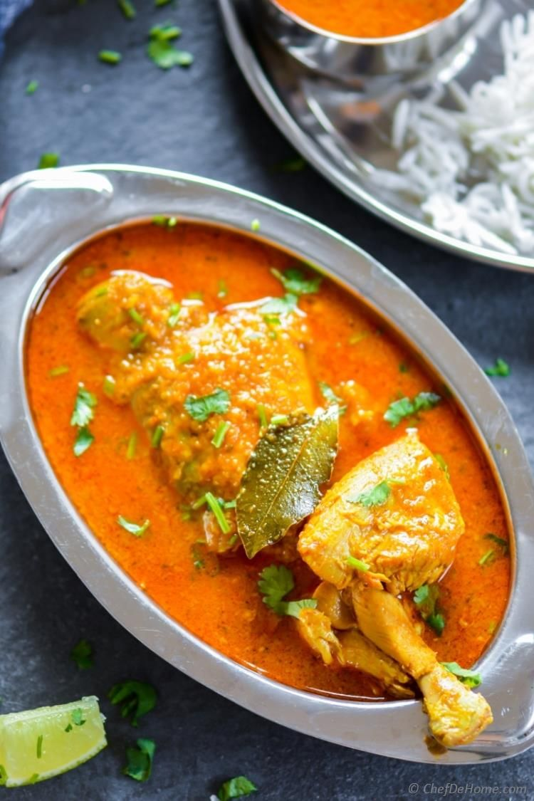 Easy Chicken Madras Curry Recipe Made With Coconut Milk Curry