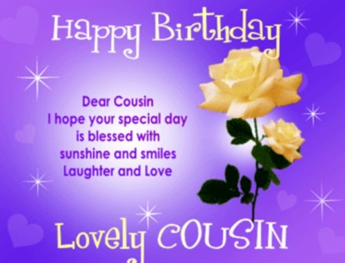 Happy Birthday Cousin Quotes Wishes And Images Ejeanor Johnston Inspiration Happy Birthday Cousin Quotes