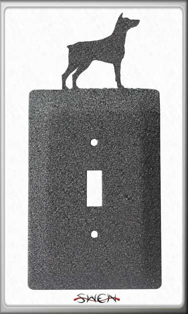 SWEN Products SIBERIAN HUSKY DOG Light Switch Plate Covers