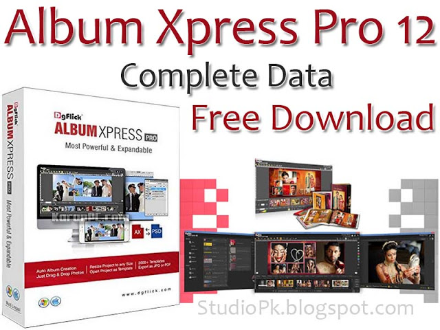 Album Xpress Pro 12 Complete Data Free Download With Images Album Album Design Create Photo Album