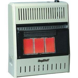 World Marketing Btu Infrared Natural Gas Wall E Heater Garage Studio