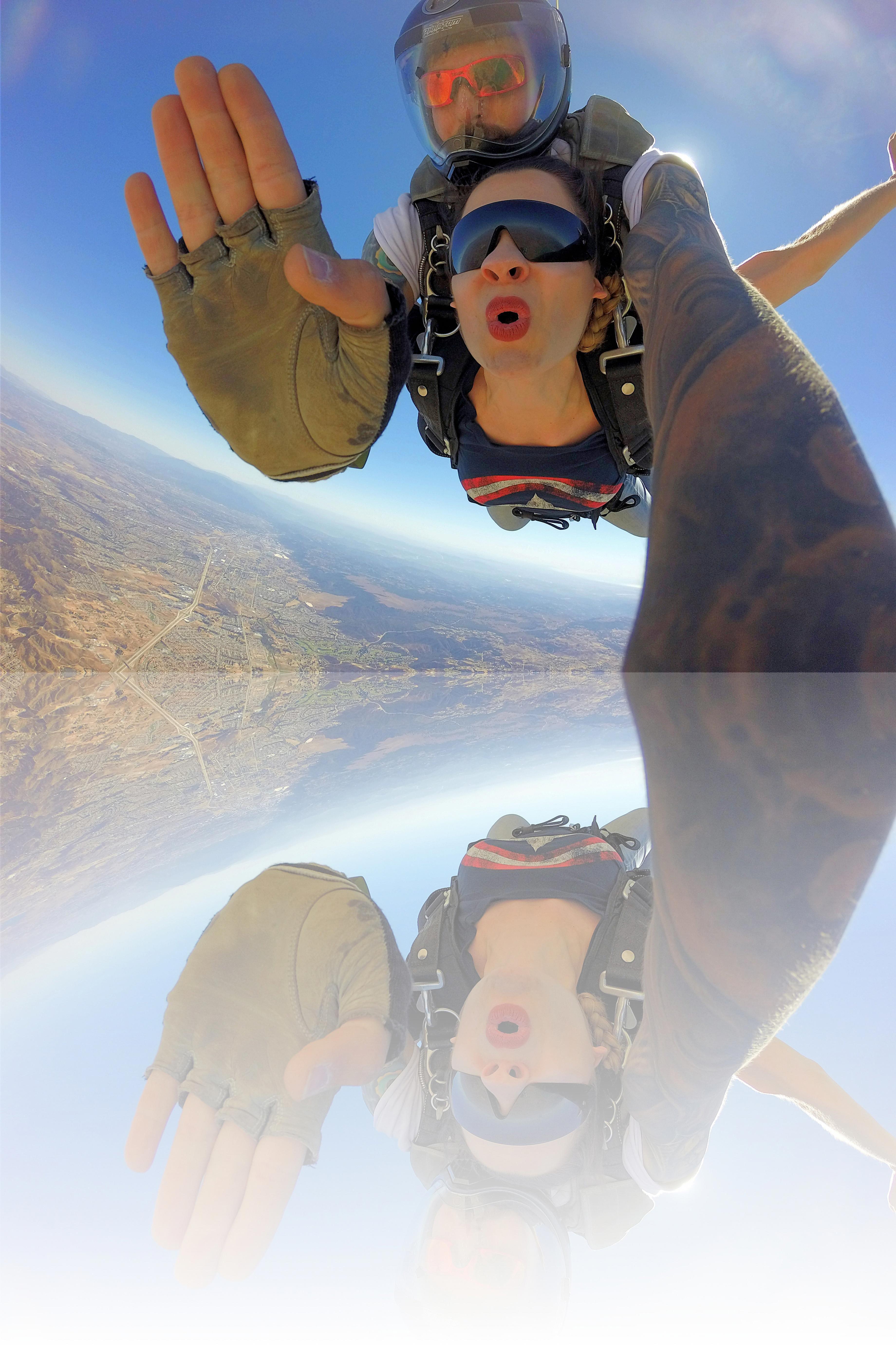 The Feeling Of Tandem Skydiving Skydiving Diving Sky