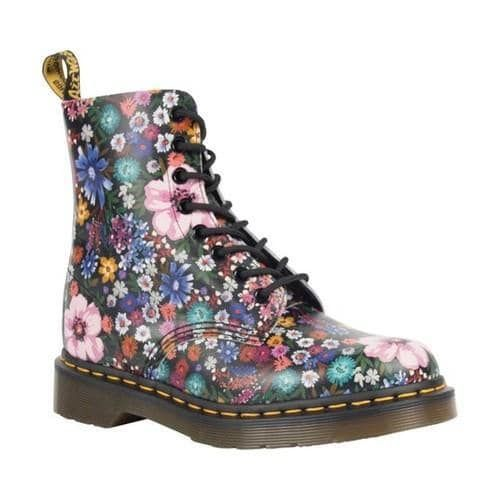 Visit New Sale Online Dr. Martens Pascal 8-Eye Zip Boot(Women's) -Bone/Mallow Pink Wanderlust Backhand Leather Cheap Visit Wyd0Os