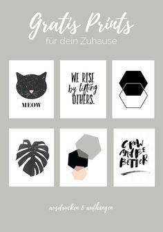 DIY Marmor Bilderrahmen  6 Gratis Prints zum Ausdrucken  Filofax