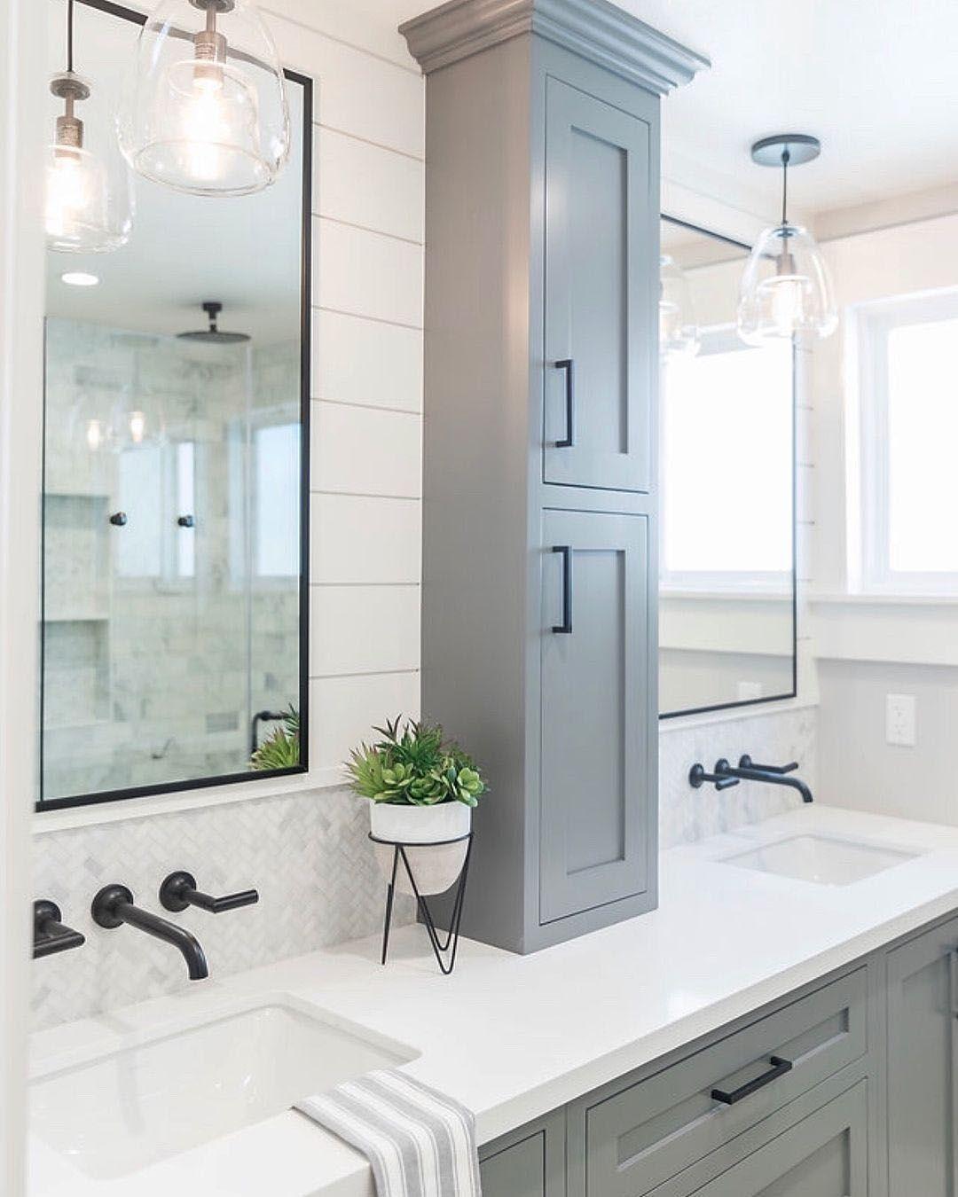 Terrific Bathroom Mirror Ideas For Double Sinks For 2019 Affordable Bathroom Remodel Bathroom Remodel Designs Bathrooms Remodel [ 1350 x 1080 Pixel ]