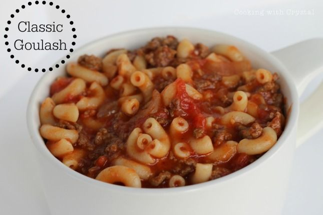 Classic Goulash Recipe! Perfect for cold winter nights.