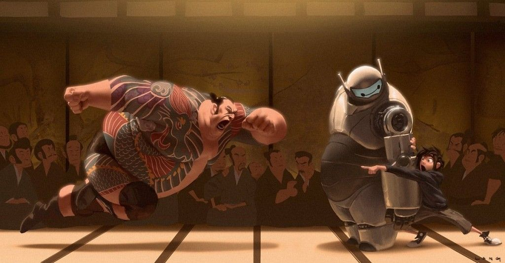 Big Hero 6 Concept Art Collection - Daily Art, Movie Art