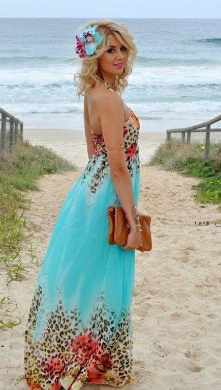 Beach dresses for wedding guest the wedding etc for Summer maxi dresses weddings