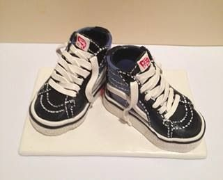 Vans Shoes Clay Cake Topper Ceramic Shoes In 2019