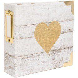 Album 10x10 - Glitter Heart - Becky HIggins
