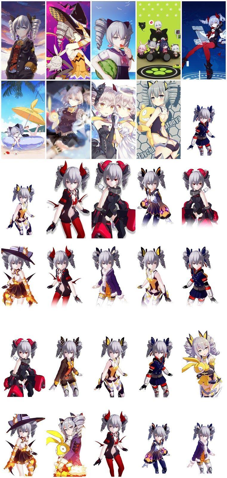 Honkai Impact 3 (Bronya Zaychik) Wallpaper Pack For Mobile