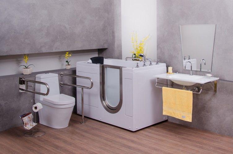 Bonito E Funcional Banheiros Adaptados Para Quem Tem Mobilidade