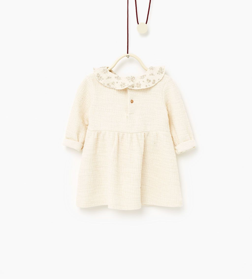 Embroidered dress-DRESSES-Baby girl-Baby   3 months - 3 years-KIDS   ZARA Canada