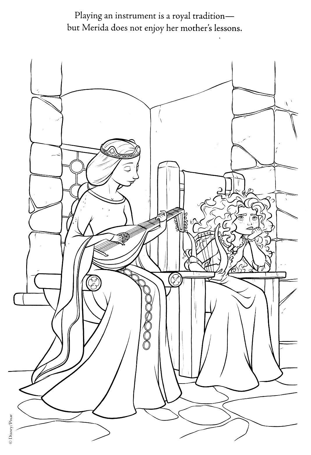 Brave, Coloring Pages | Disney - Coloring Pages | Pinterest | Kids ...