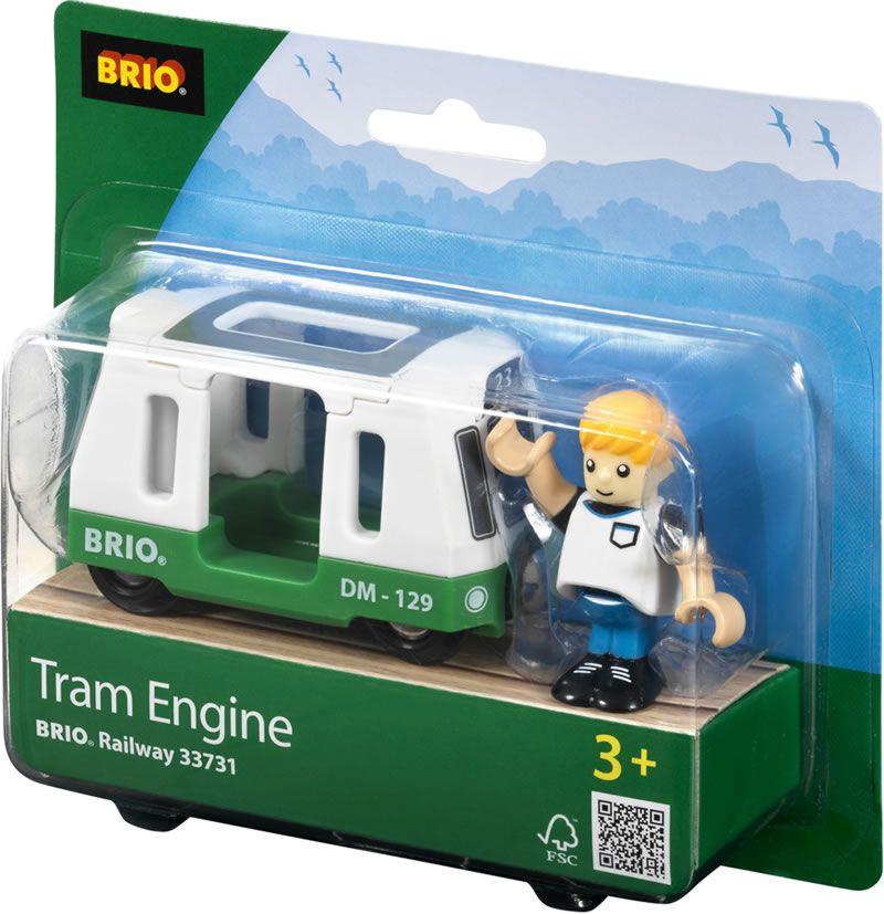 BRIO Straßenbahn - Wagen mit Figur 33731 bei Papiton bestellen.