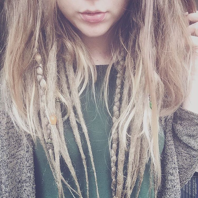 #dreads #partialdreads hair