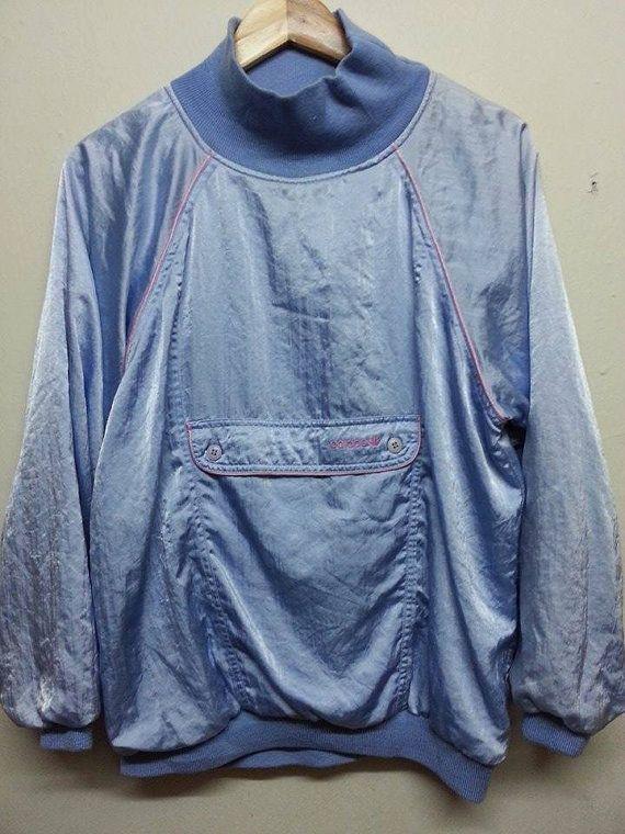 venta SuzzaneVintage Rare Vintage 1980s 90s por Adidas Trefoil Satin por Satin SuzzaneVintage fa31b6c - rspr.host