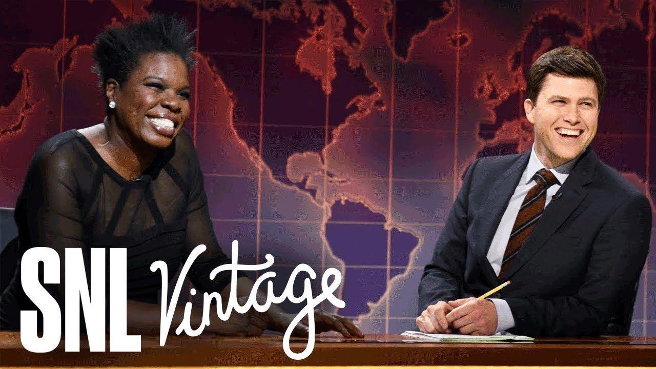 Weekend Update Leslie Jones on Her Perfect Man SNL