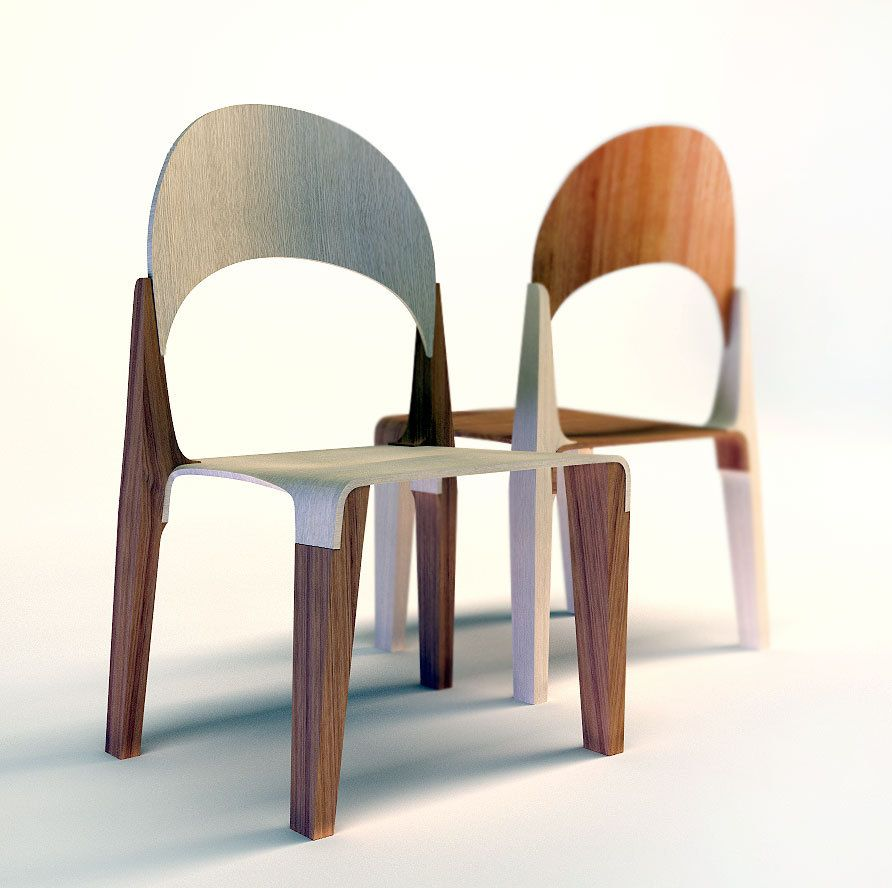 The COMBO chair by Velichko Velikov, via Behance