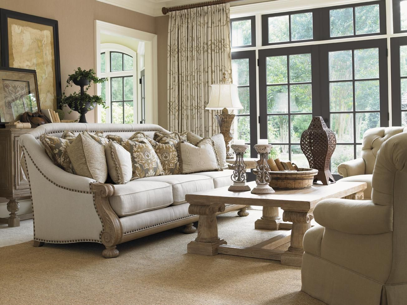 Images Of Courtrai Fabric By Lexington Home Brands Becker