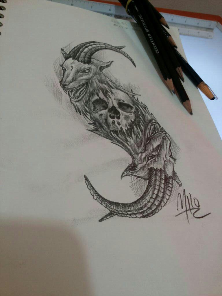 Lienzo Vivo Tatuaje Slipknot Tatuajes Dibujos