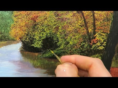 How To Paint An Aspen Forest In The Fall With Liquitex