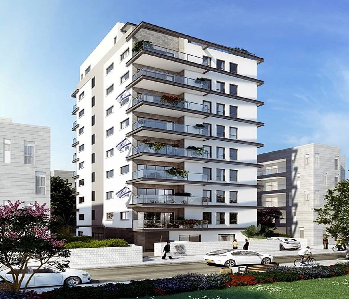 A 10-story building designed by urban rejuvenation  18
