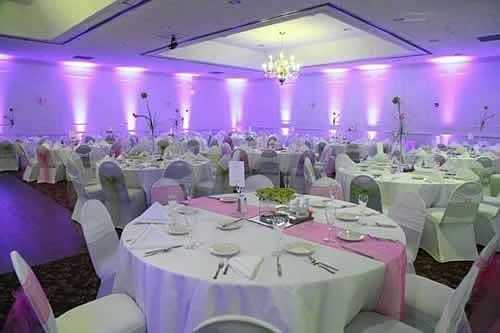 Uplighting is a great way to add ambiance to a room. Whats your favorite color? #rentmywedding #uplighting || Uplighting: @RentMyWedding