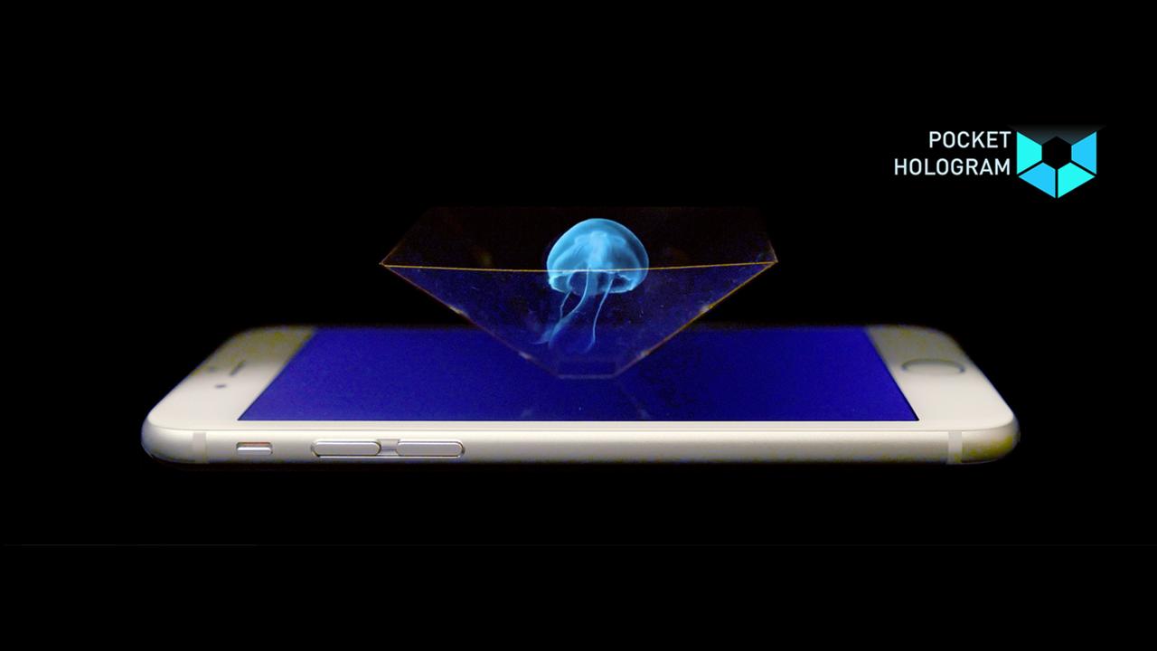 We are Pocket Hologram   We put our beloved holograms into