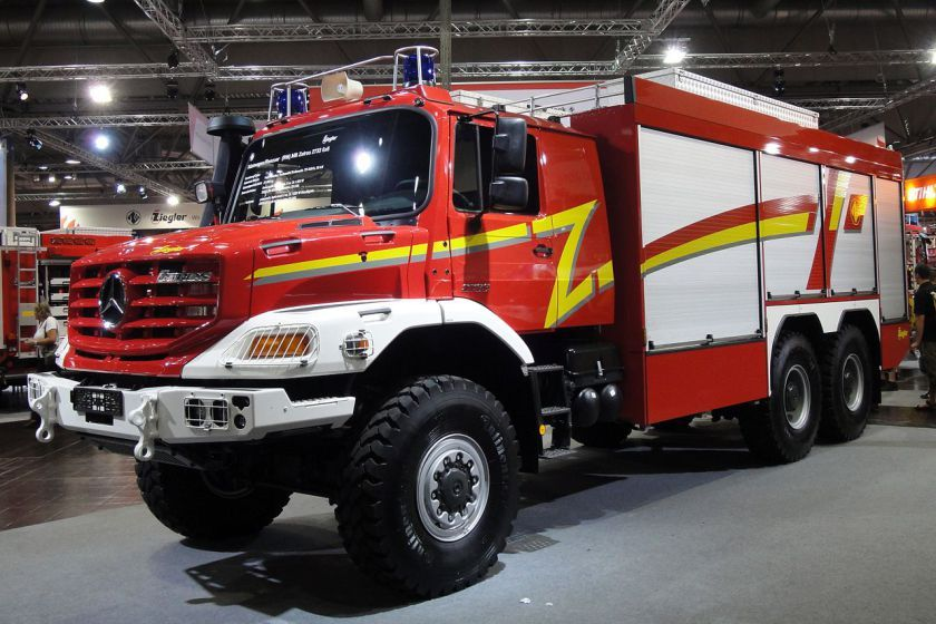 Mercedes Benz Zetros 2733 6x6 Tehnichna Ryatuvalna Mashina En 2020 Camion De Bomberos Bomberos Camiones