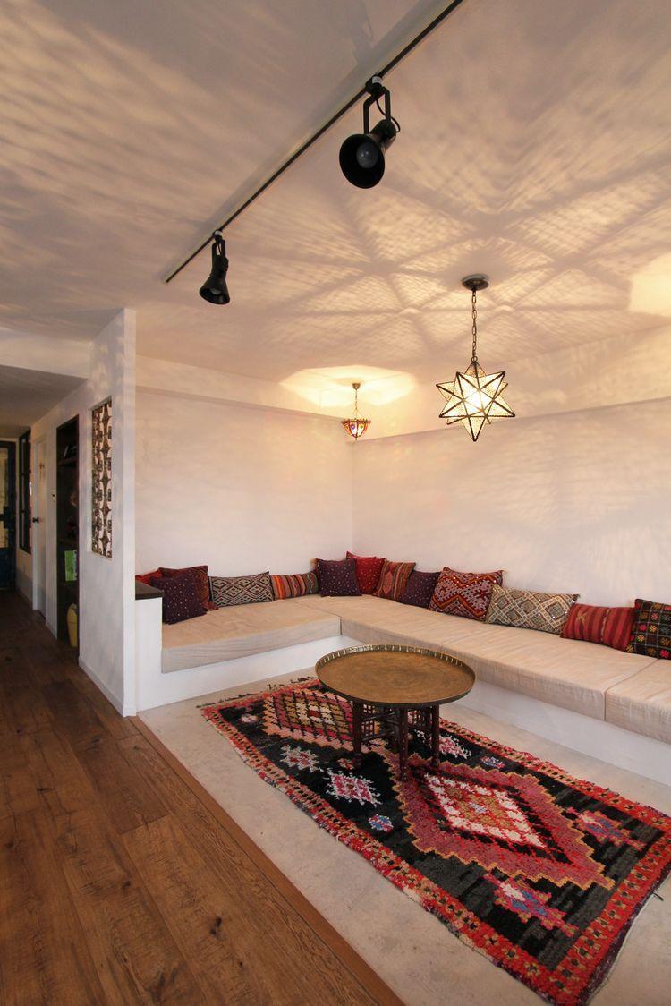 Pin von meryem kaplan auf m bel maison salon marocain - Marokkanische wohnzimmer ...