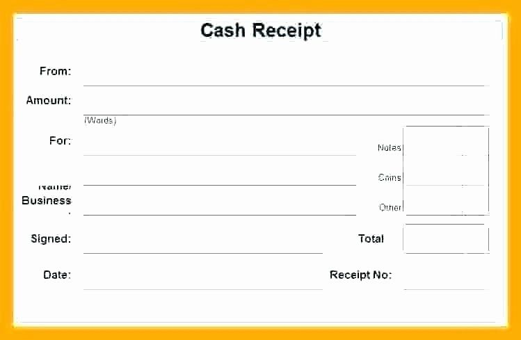 Cash Payment Receipt Template Luxury Free Cash Receipt Template Word Doc Receipt Template Free Receipt Template Templates