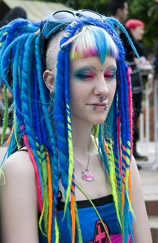 Darkside Of Dreadlocks Alternative Dread Fashion Hair