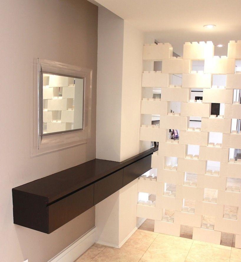 See Thru Room Divider Built From Portable Blocks Called Everblock
