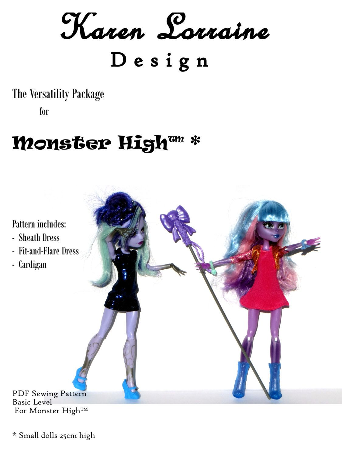 Monster High - The Versatility Package - Kid Sister (Small MH ...