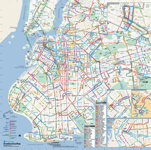 Mta Brooklyn Bus Map How to use the MTA buses | Play Brooklyn | Bus map, Prospect