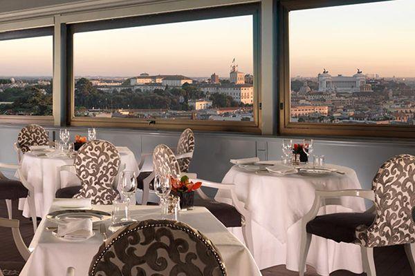 LA TERRAZZA DELL\'EDEN Via Ludovisi, 49 Roma si trova nell\'Hotel ...