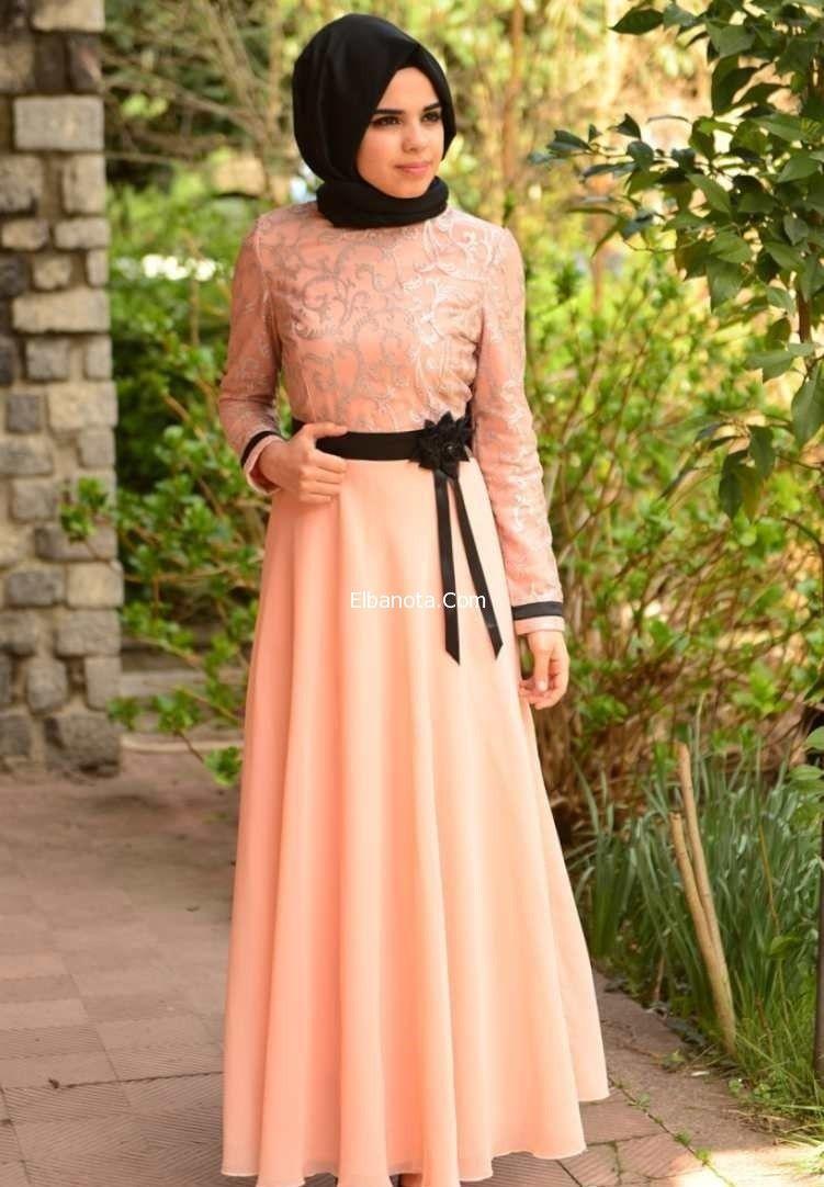 فساتين للمحجبات تركية موضة فساتين للمحجبات للخروج فساتين للمحجبات صيف 2014 موضة بنوته أزياء بنوته بنوته كافيه Fashion Hijab Fashion Islamic Fashion