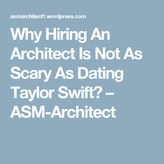 dating architects