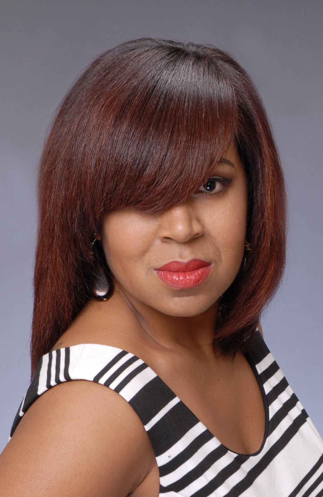This is Michelle Savwoir whom is a stylist inside Salon