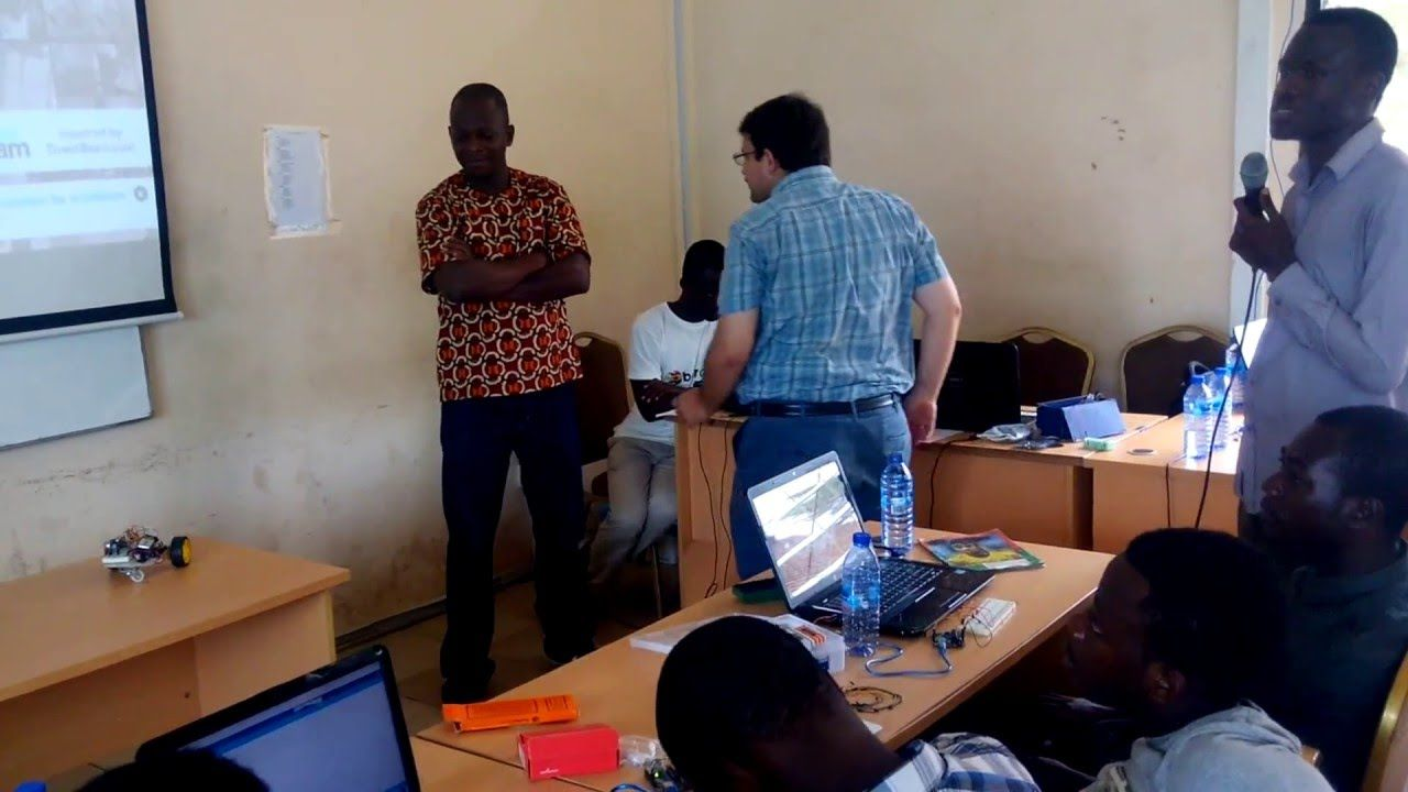 Arduino Day in ACCRA - GHANA