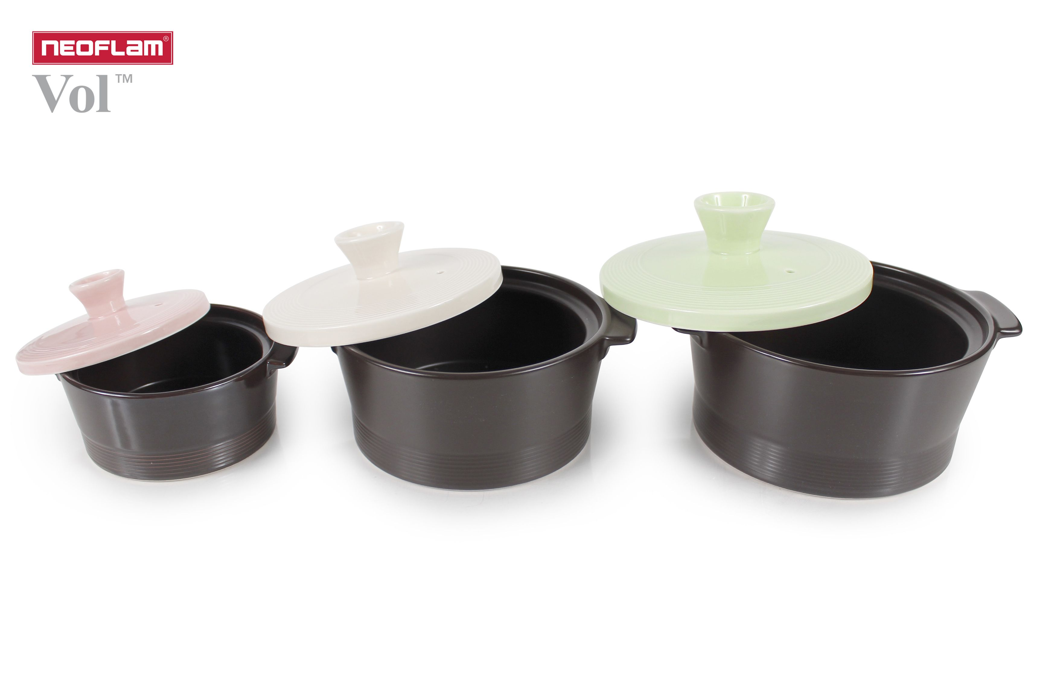 Vol Ceramic Stovetop Cookware Nature Is Always Best In Its Original Form Rarely Found In Any Other Heat Resistant Cookware The Beautiful Modern Colors Used I