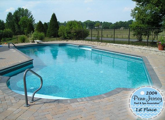2004 award winning pool in central PA Goodall Pools \ Spas Our