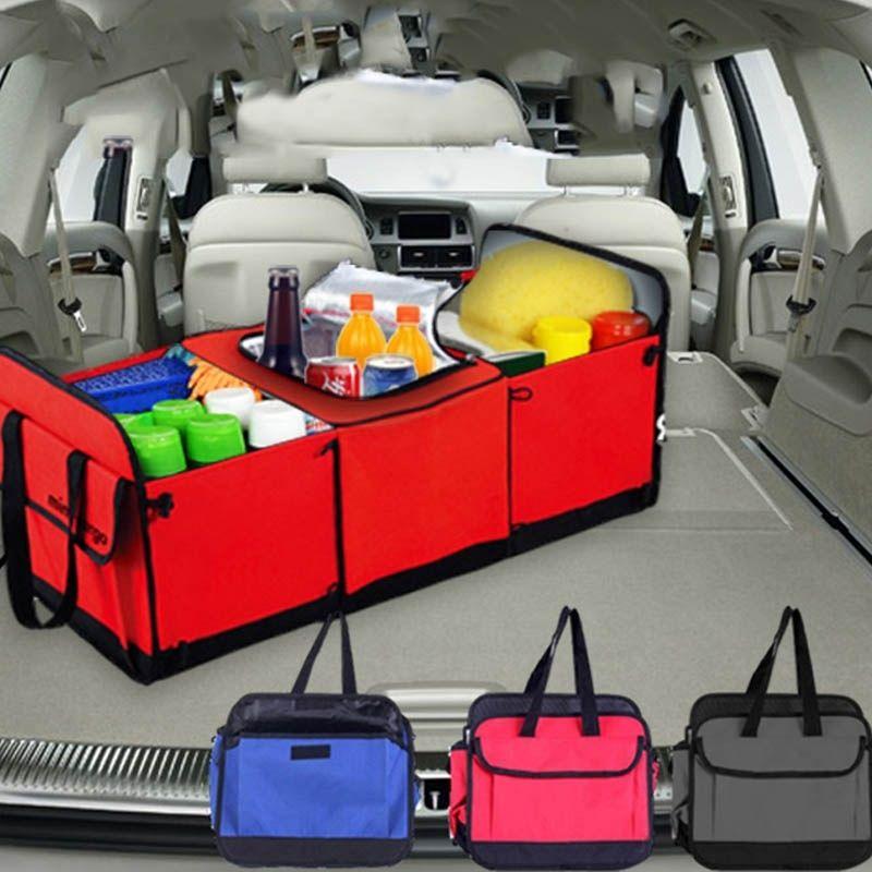 tragbare kofferraum organizer auto lagerung veranstalter. Black Bedroom Furniture Sets. Home Design Ideas