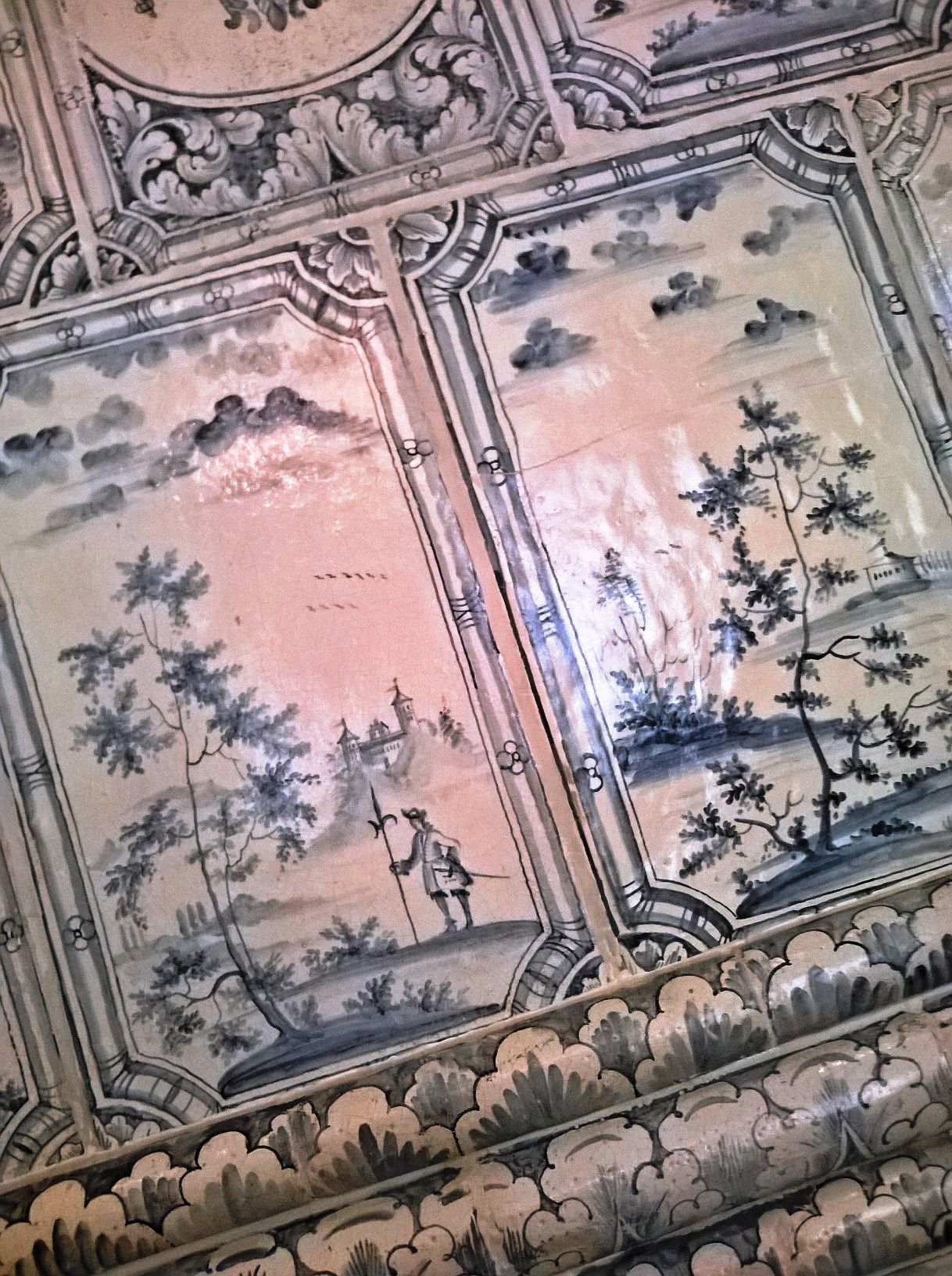 Lovely Ceramic Tiles In Kadriorg Palace, Tallinn